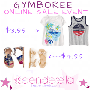 Gymboree - Tees from $3.99, Shoes from $4.99 & More!